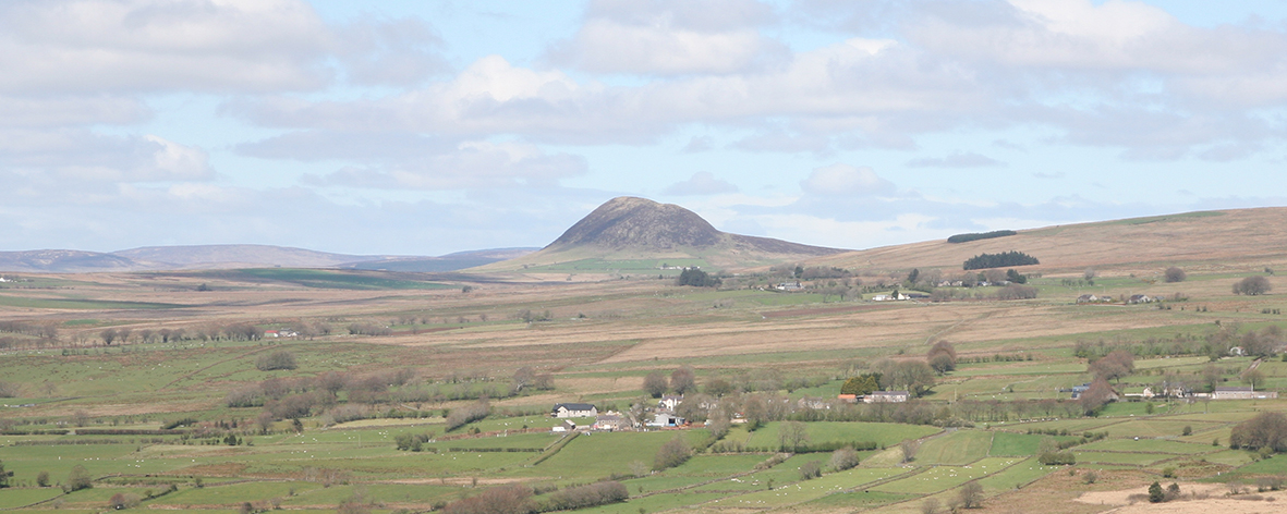 Slemish from the Collin Road, Ballyclare