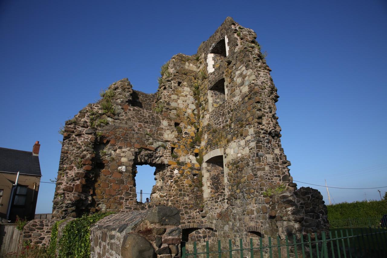 The ruins of Olderfleet castle