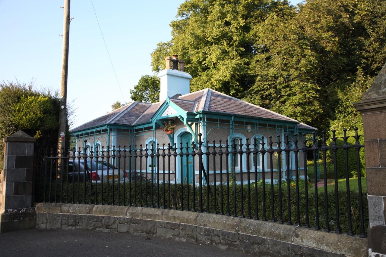 Gatehouse at Drumalis House on the Glenarm Road