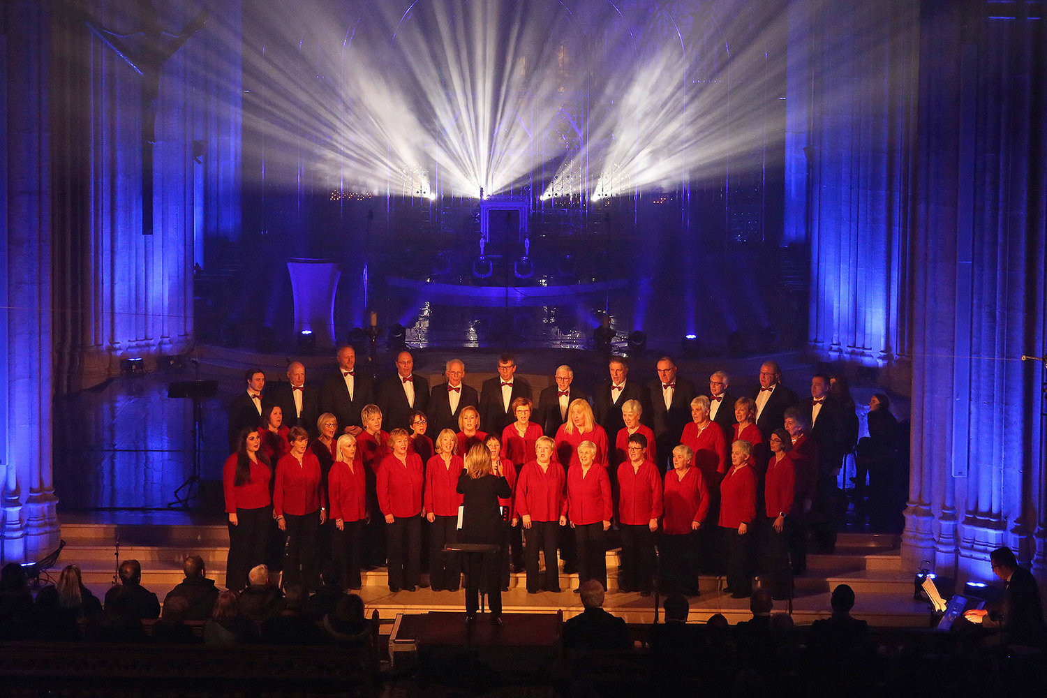 The Clare Chorale performing in St Patrick's Cathedral, Armagh