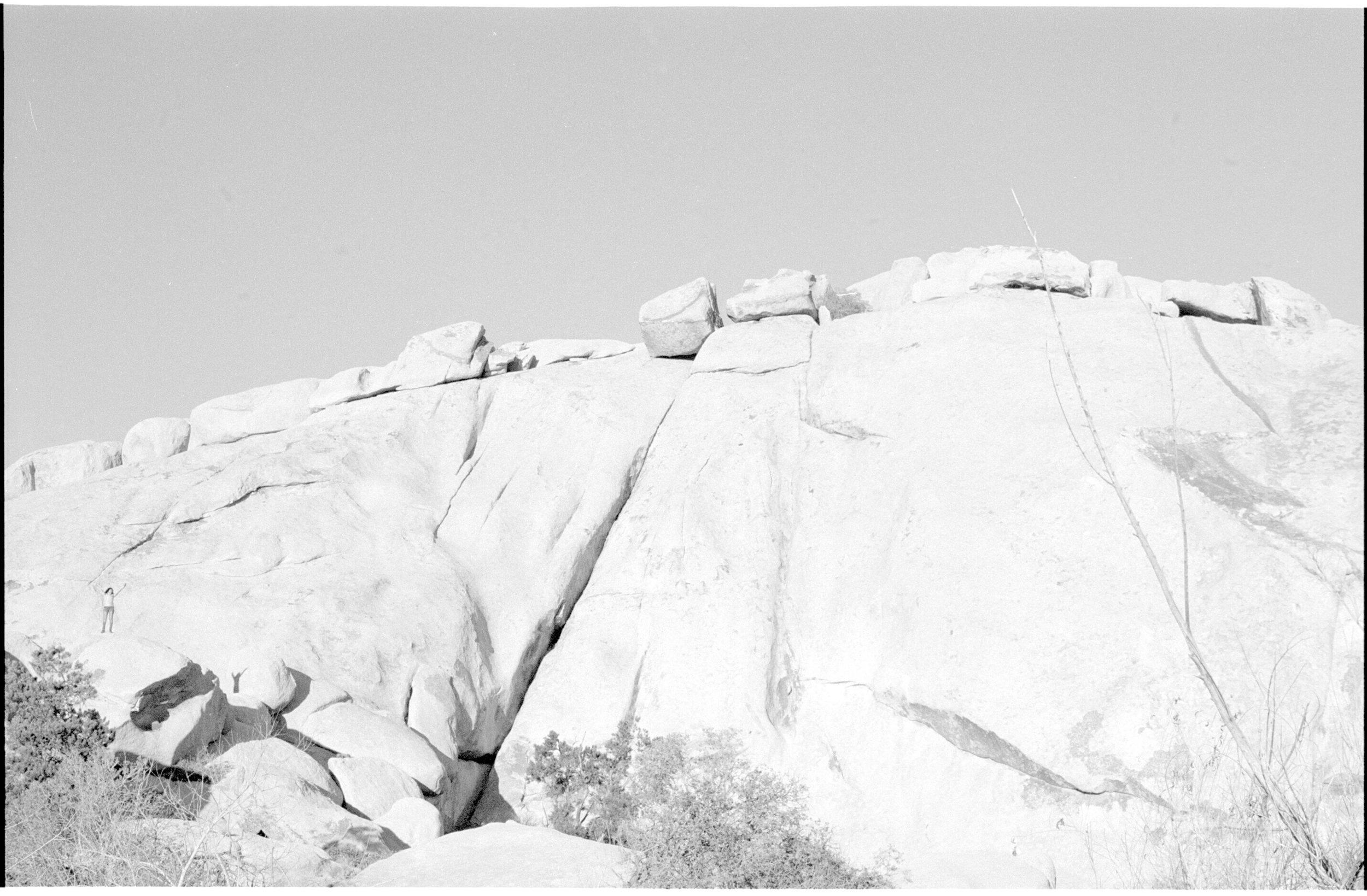 joshua tree, big rocks