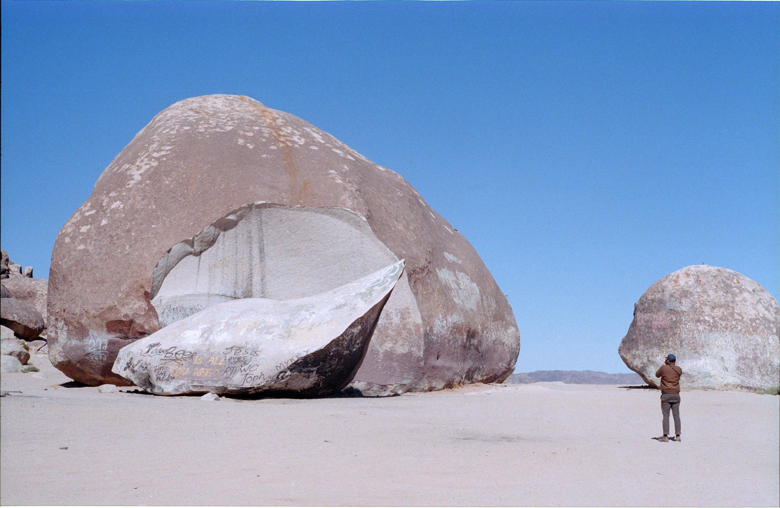 landers, giant rock