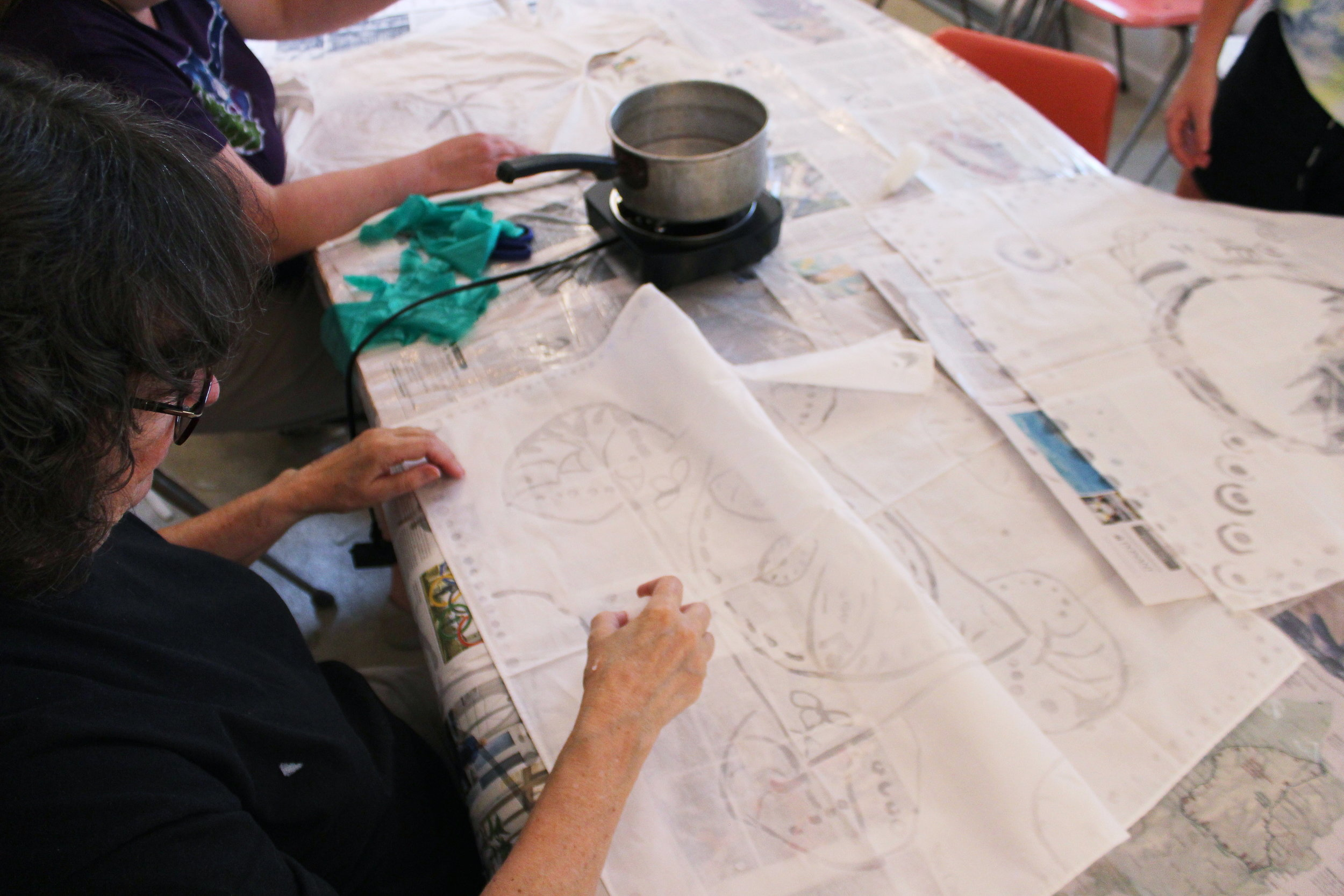 Workshops - The Fiber Project offers workshops in indigo dyeing, dyeing with natural dyes, weaving, and other fiber arts projects.Make sure to check in throughout the year to see whats being offered!