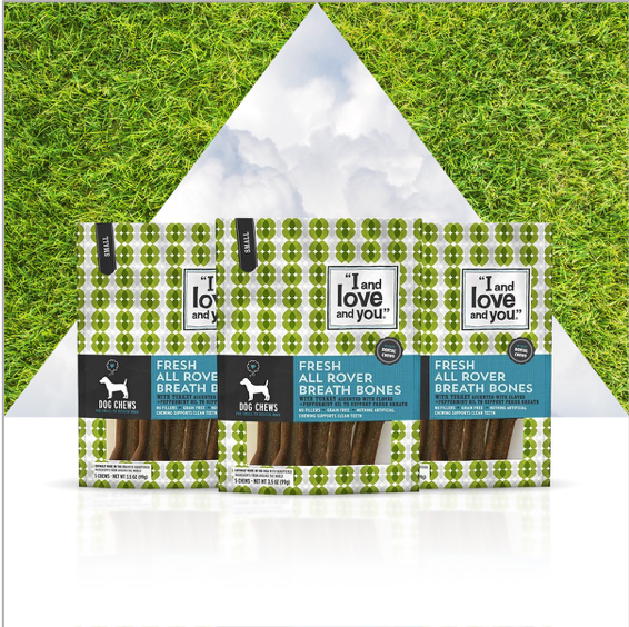Get a breath of fresh air and treat your pup to @IandLoveandYouPet's All Rover Bones dog chews. Promote dental health with a safe, healthy alternative to rawhide. 🐕 Find them on #AmazonLaunchpad. #feedthelove #petweek