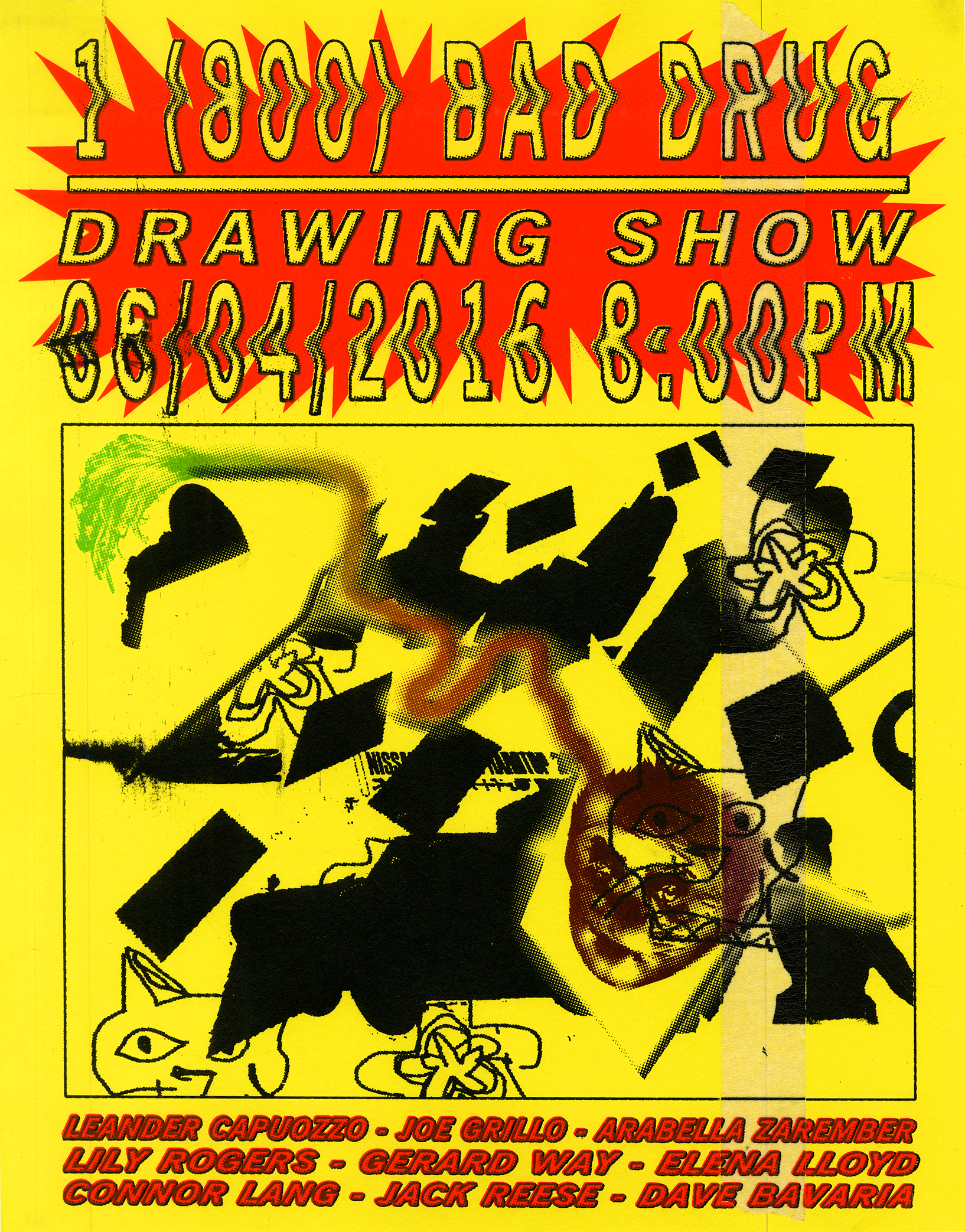 1 (800) BAD-DRUG: DRAWING SHOW