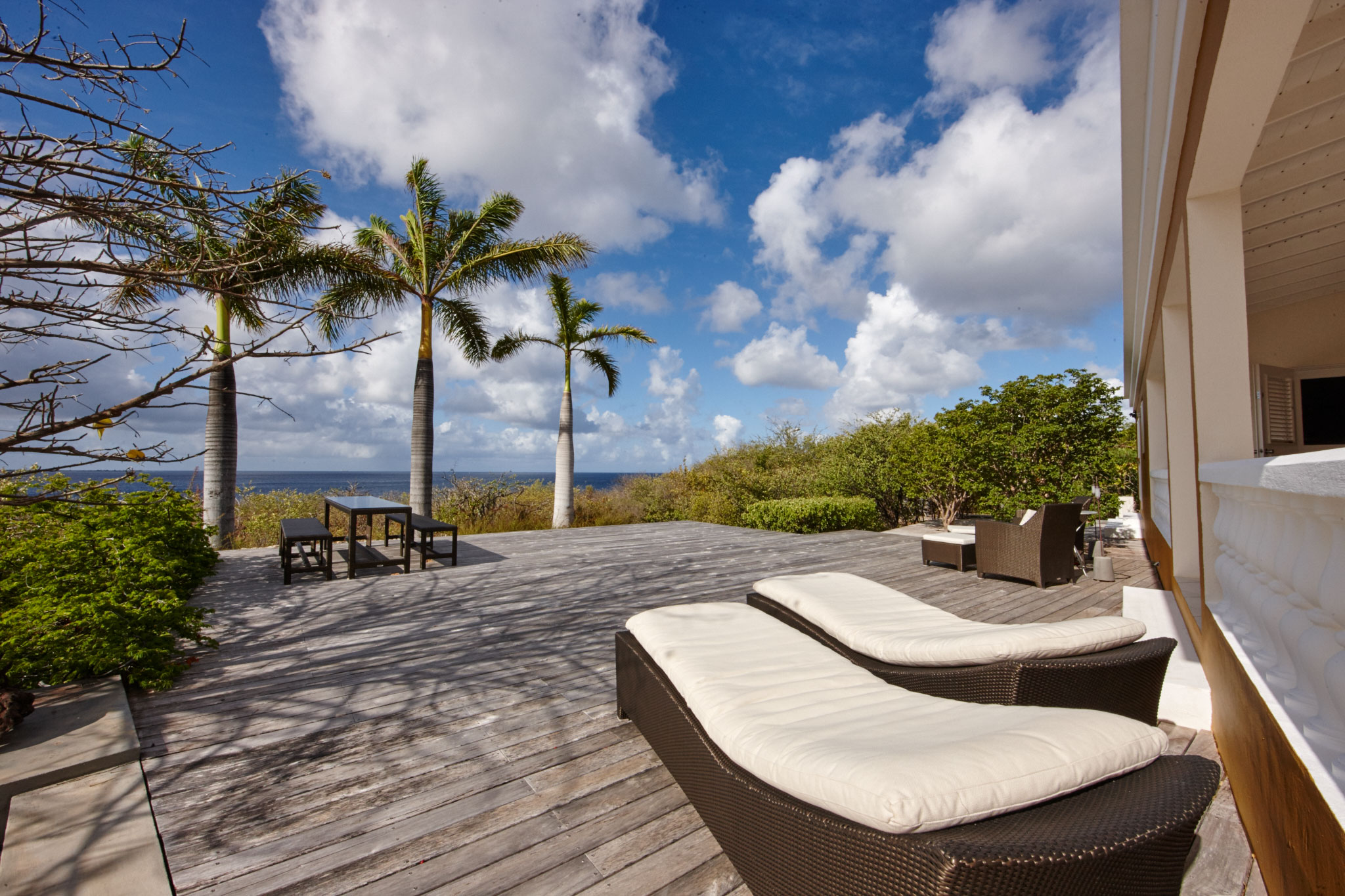Bonaire oceanfront villa rental