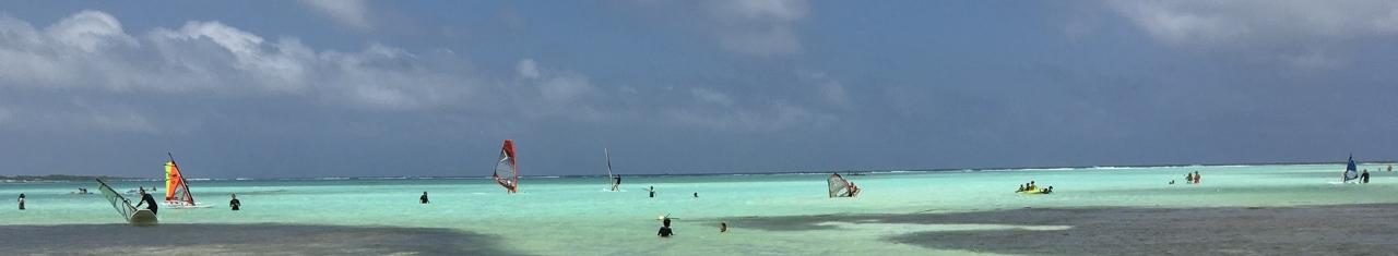 Bonaire Sorobon Beach at Lac Bay - Best Windsurfing