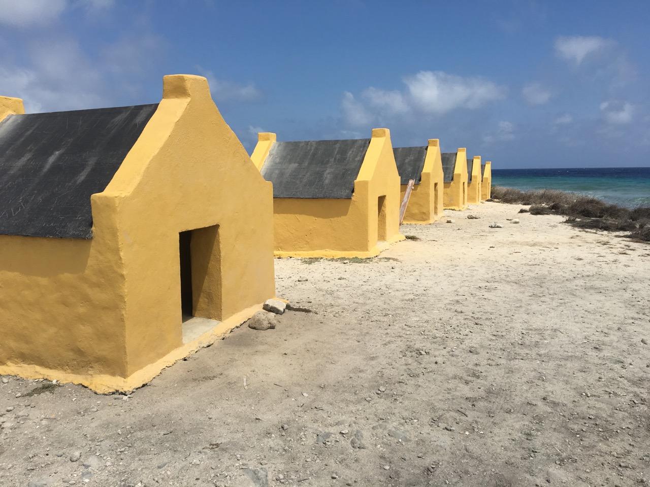 Slave Huts - Explore Bonaire's History