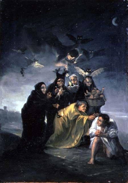 GOYA sorcières