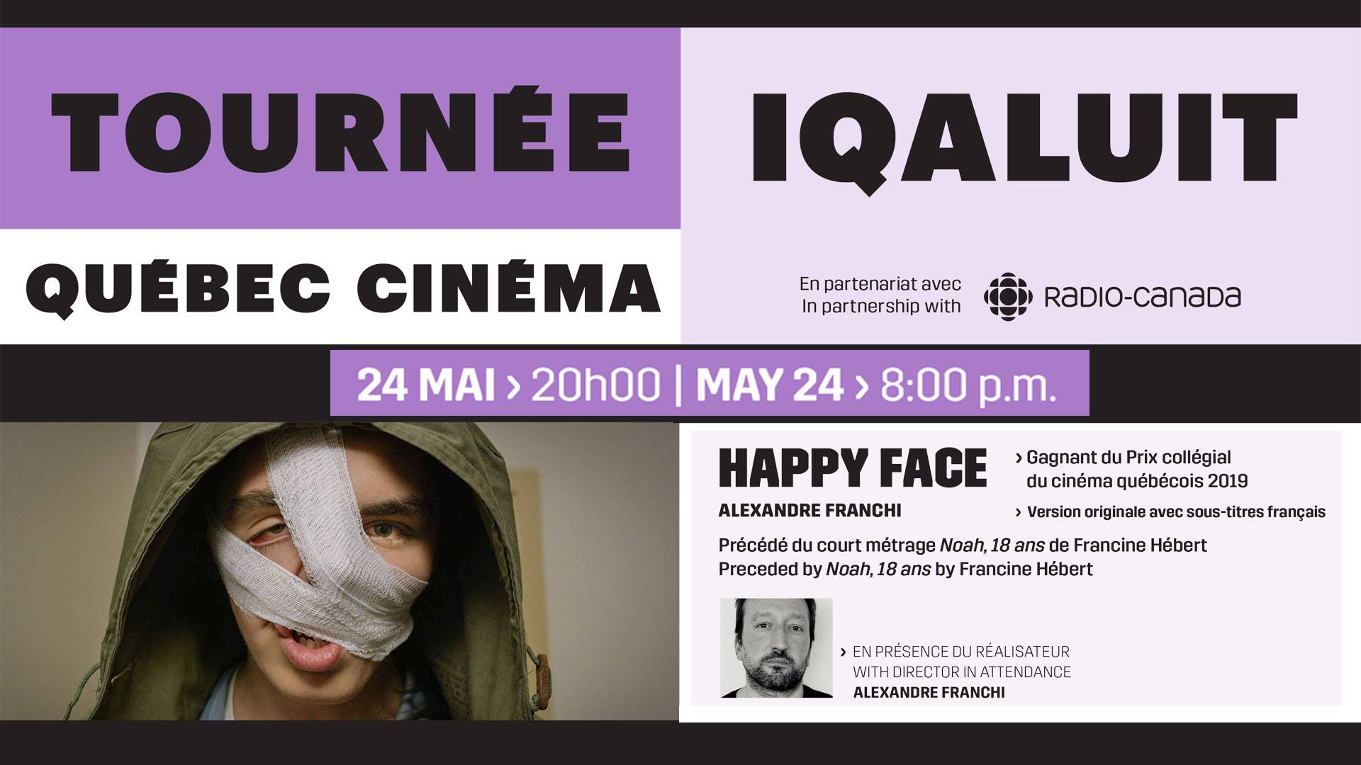 Franco-Centre 24 mai, 8pm : Happy Face