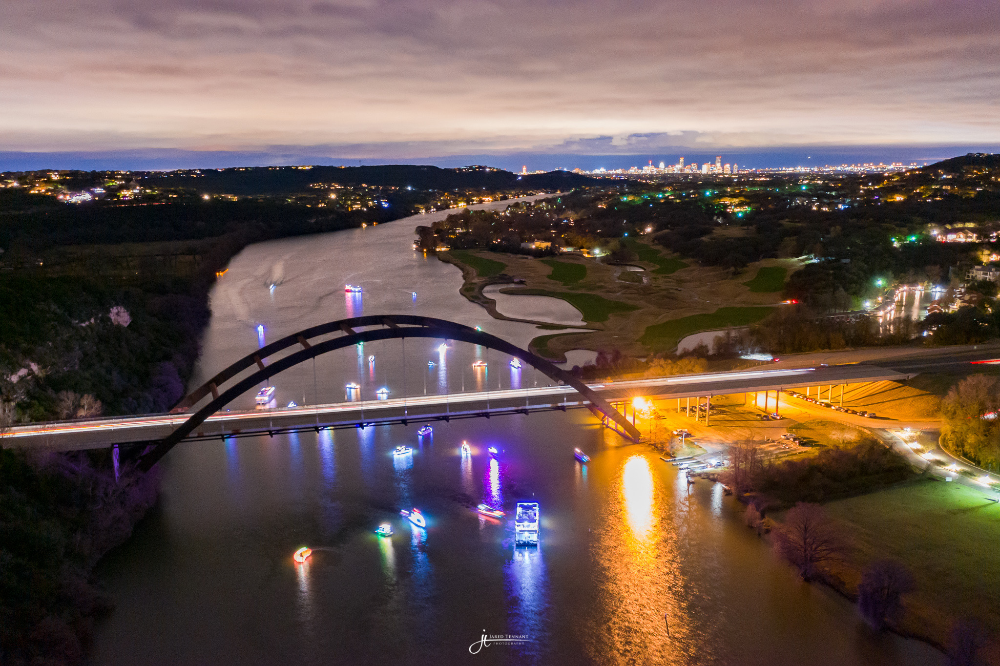 Lake Austin Boat Trail of Lights Parade 2018  - Image credit: Jared Tennant Photography