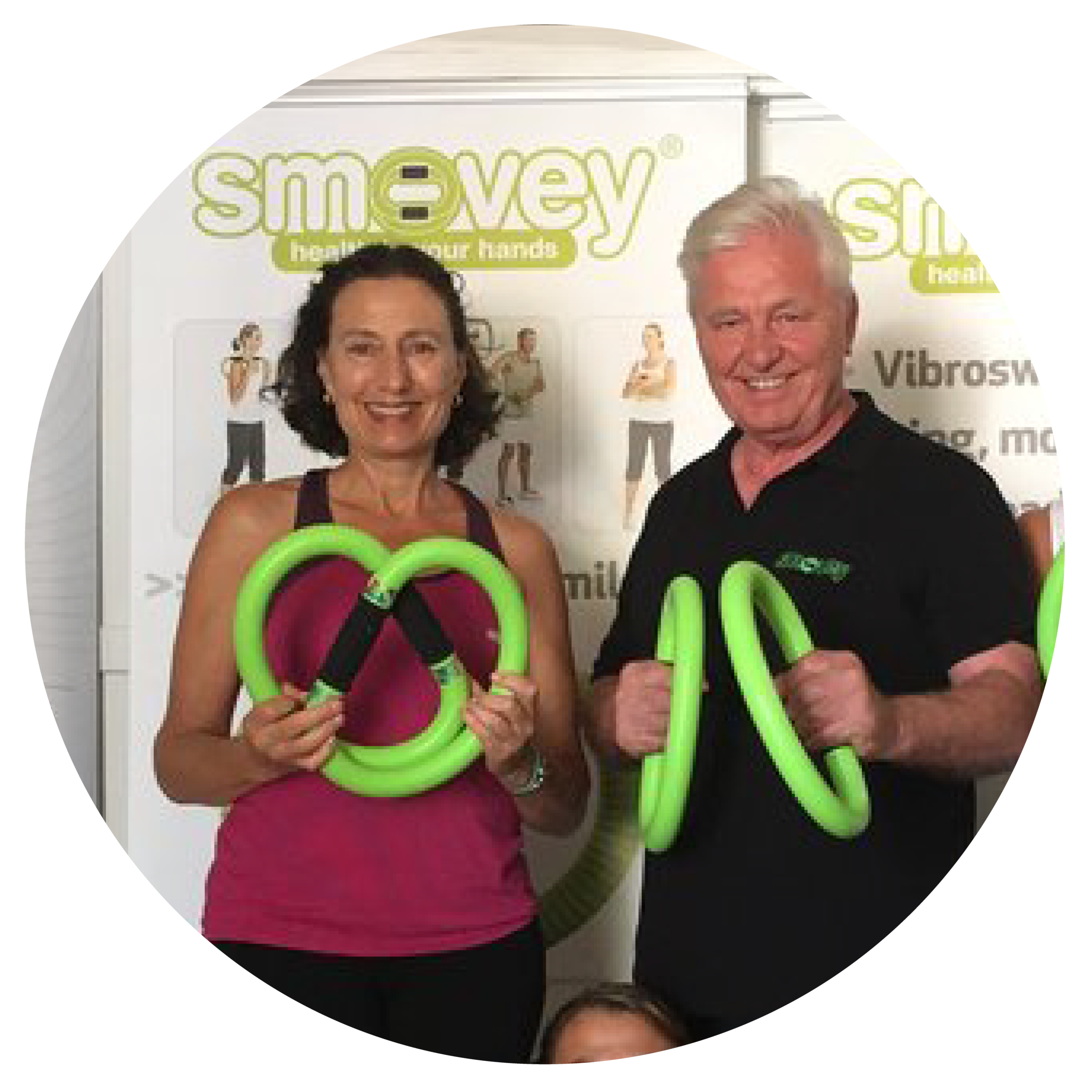 Ilene Bernd With Bernd Zimmermann,smovey Master Instructor & CEO of smovey NorthAmerica