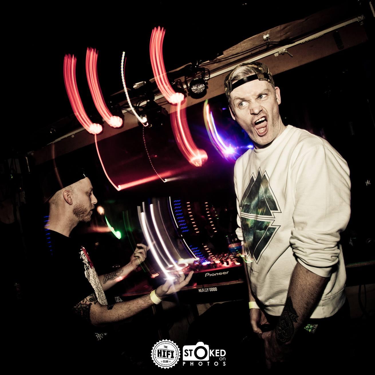 greazu$ (CA) / sinistarr [USA] the hifi club 01/30/2016
