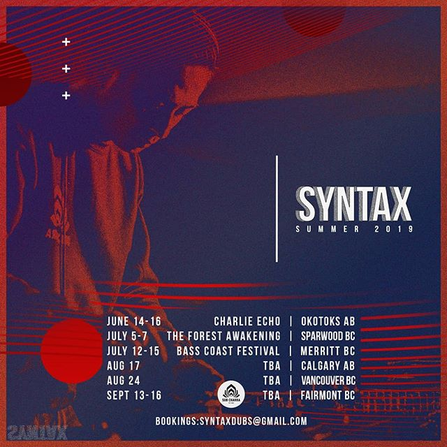 Check out all the dates where you can catch @syntax403 throwing down all-vinyl sets across Alberta and BC this festival season. #worththeweight