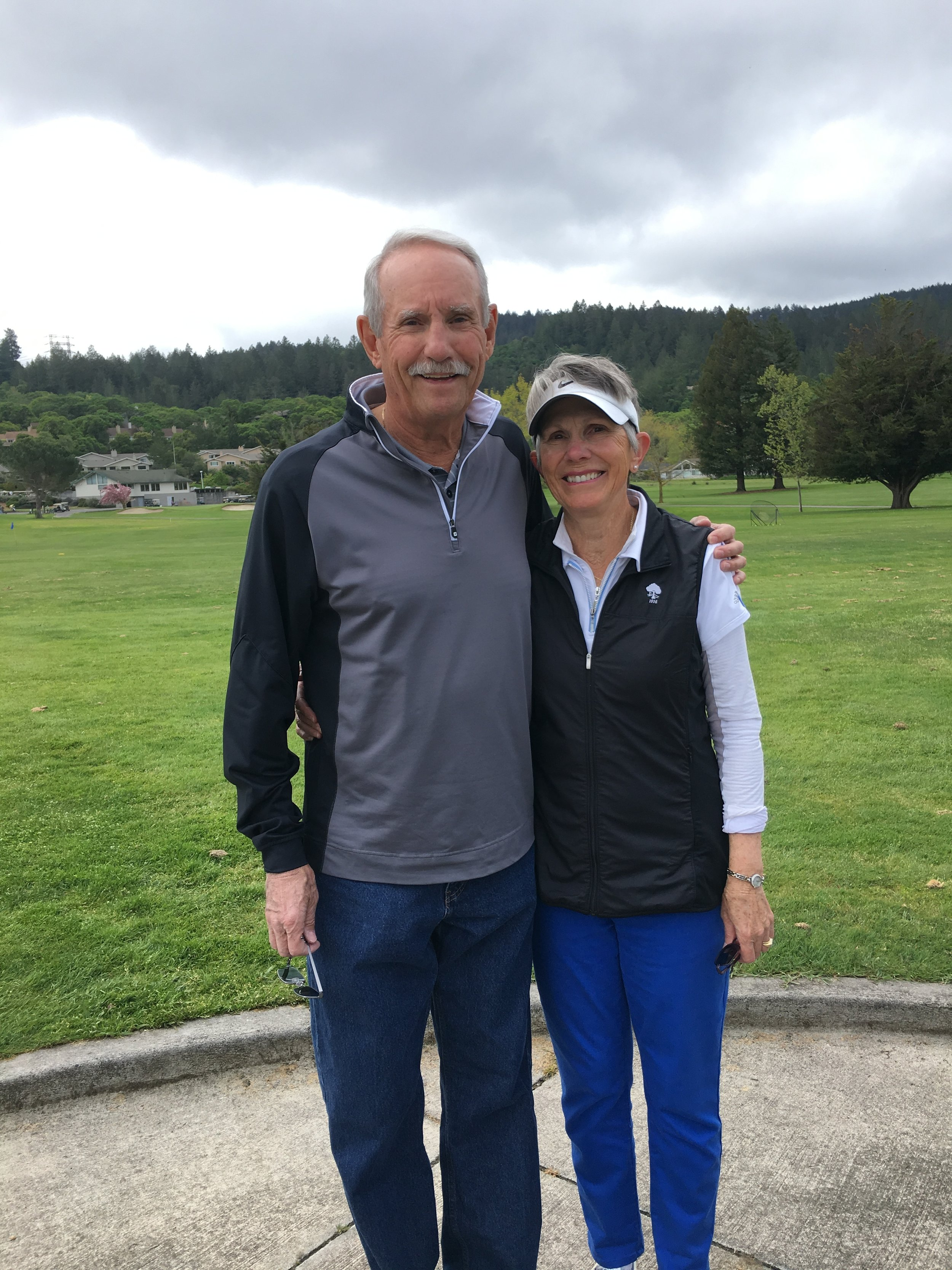 Pete Waller and Linda Paul, Assistant Coaches