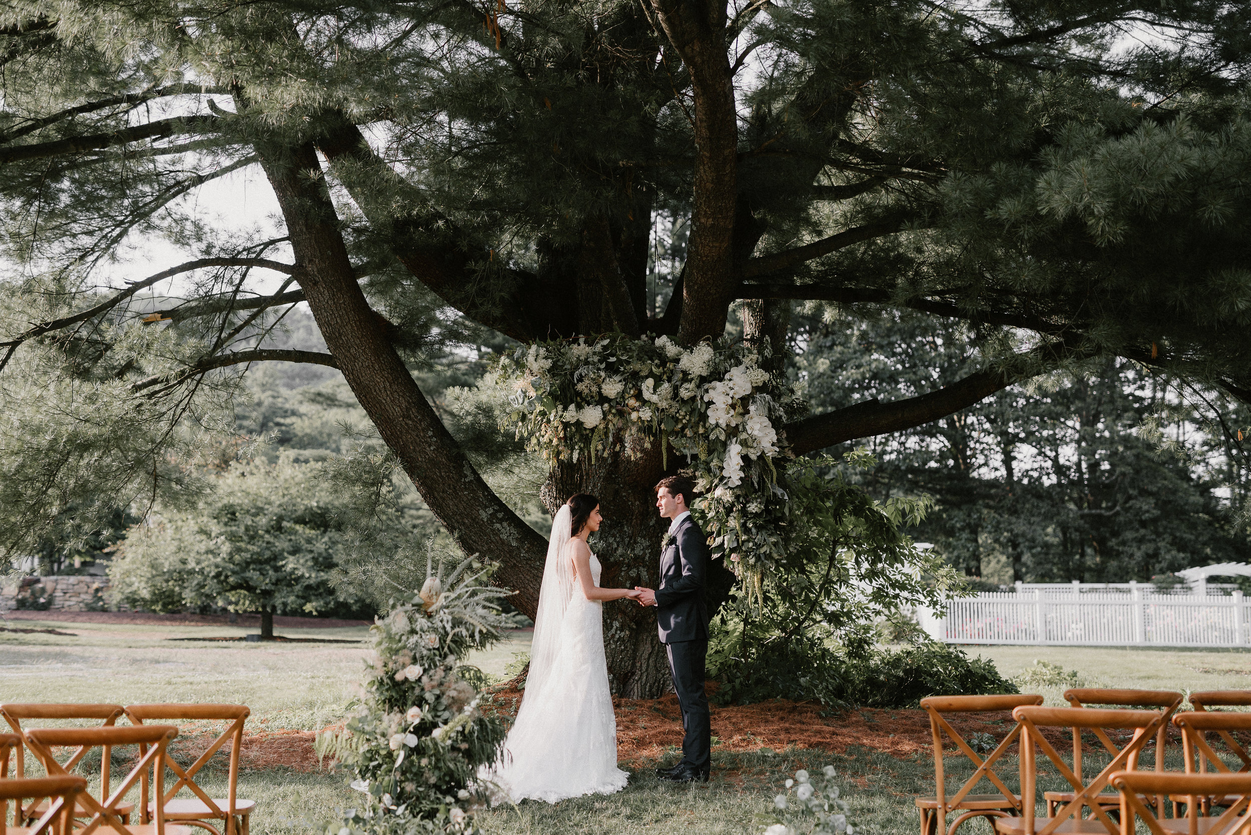 The Gardens at Uncanoonuc Mountain offers a truly unique and magnificent backdrop for your celebration! -