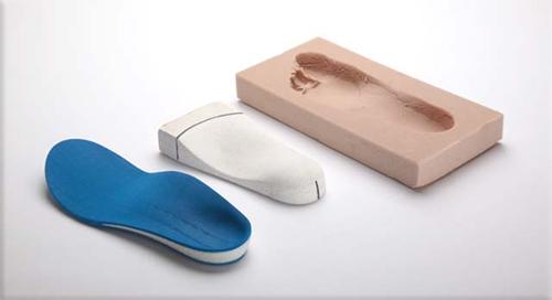 Custom Molded Orthotics — Crary Shoes