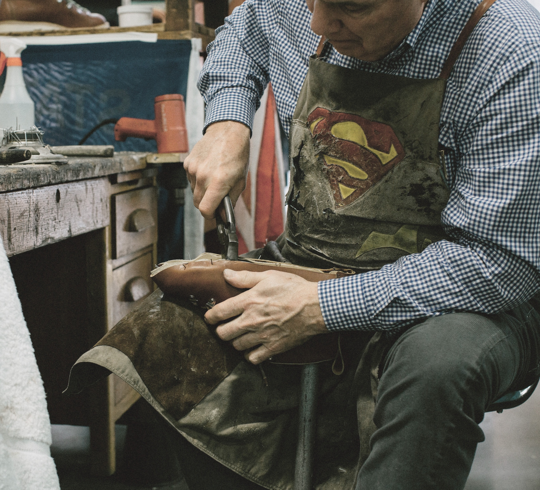Master Shoemaker,  Bill Crary