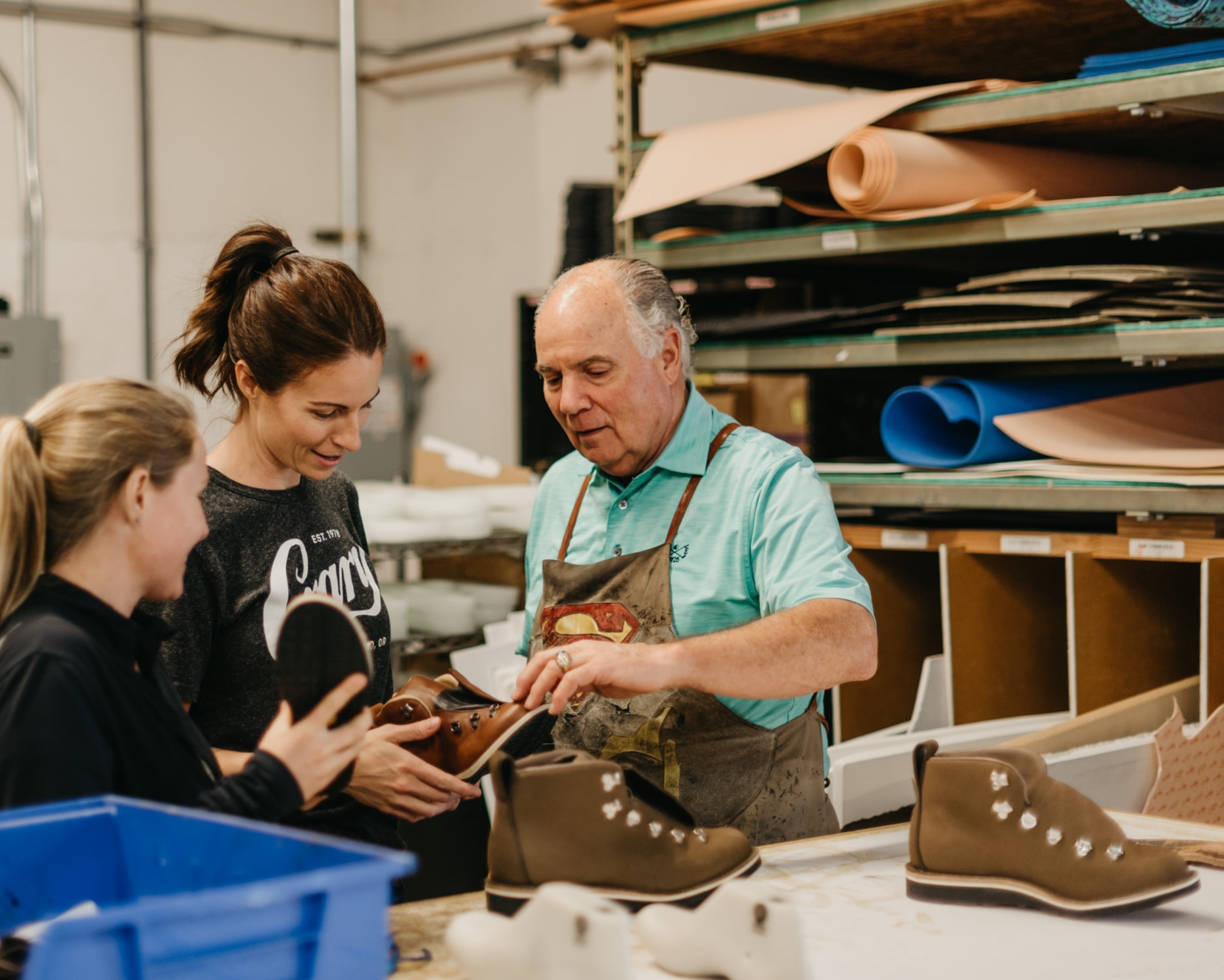 Here at Crary Shoes,we see ourselves as PROBLEM SOLVERS! - What's our Secret to Success?- Over 50 years of Orthopedic Shoemaker Experience- Board Certified Facility through The American Board of Orthotics, Prosthetics and Pedorthics- Two Full-Time Certified Pedorthists on Staff-Certified Orthotist- On-Site Shoe Factory: All of our custom shoes and orthotics are made on site, giving us total quality control and great turnaround time