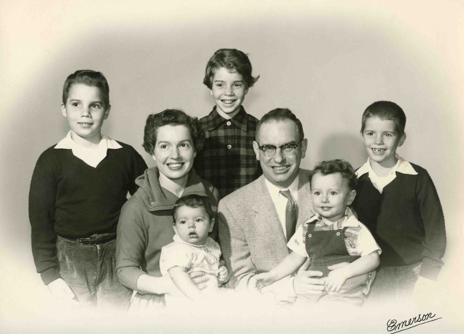 Bill Crary (far left) with the Danner family - William
