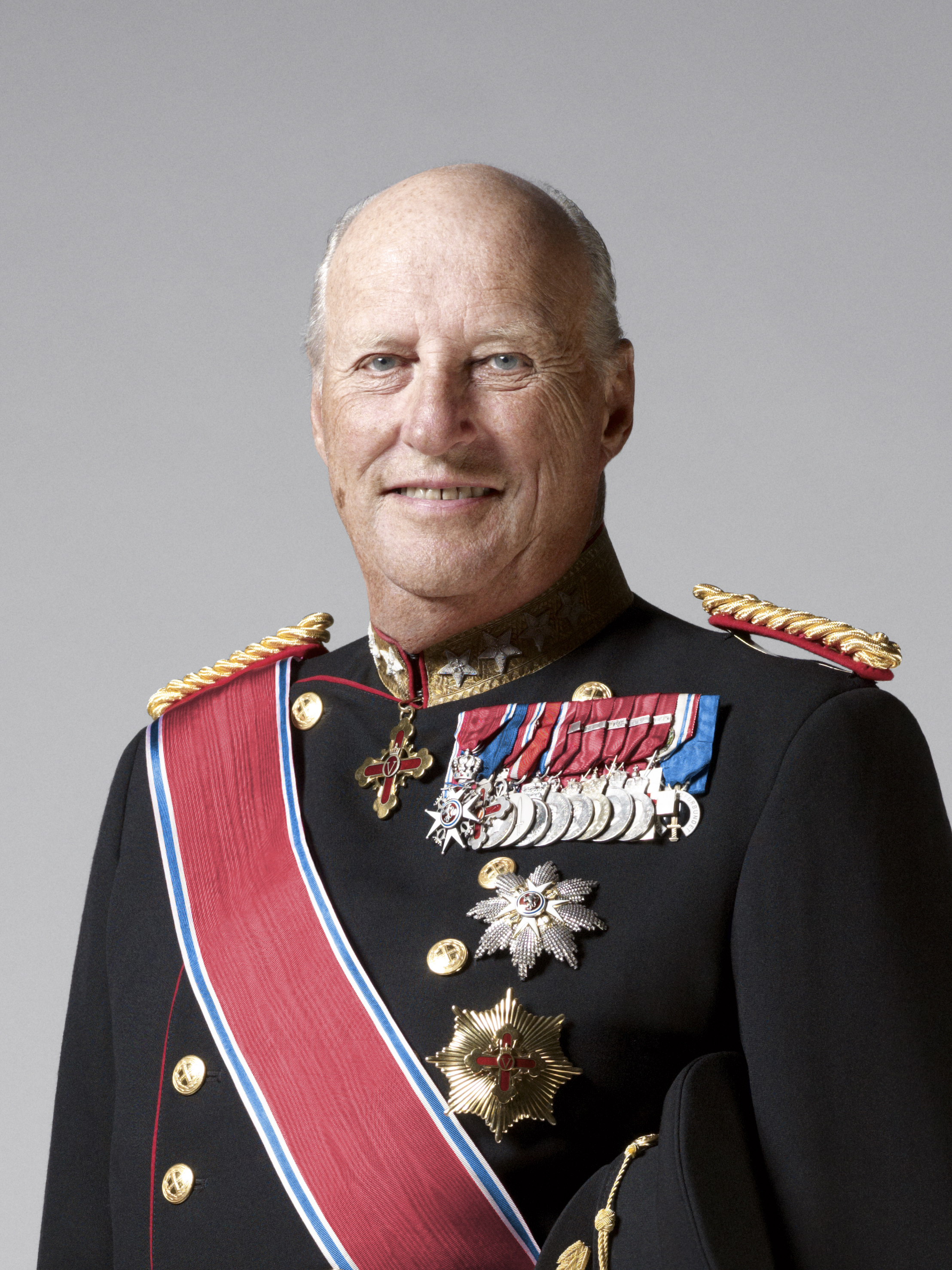 His Majesty King Harald V of Norway