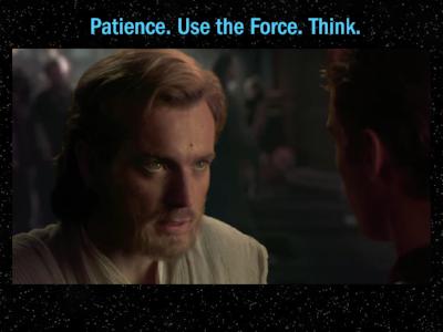 Obi-Wan was always right, you know...