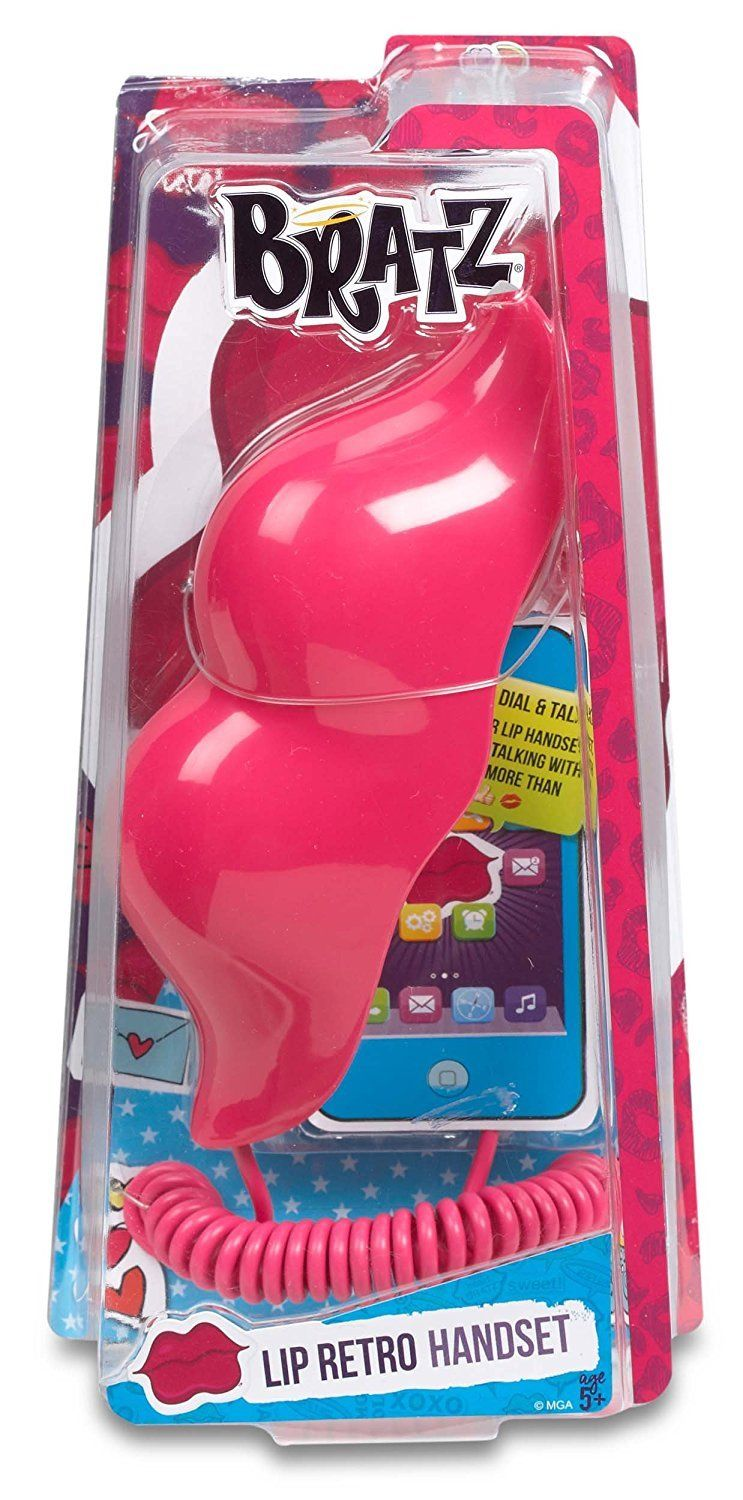 Lip Retro Handset (Pink)