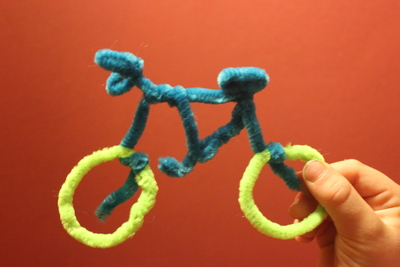 Pipe Cleaner Bicycle (Craft from June 1 2019)