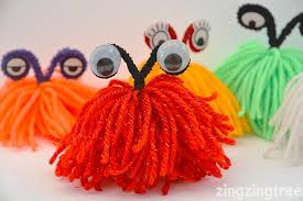 Yarn Monsters (Craft from July 6 2019)