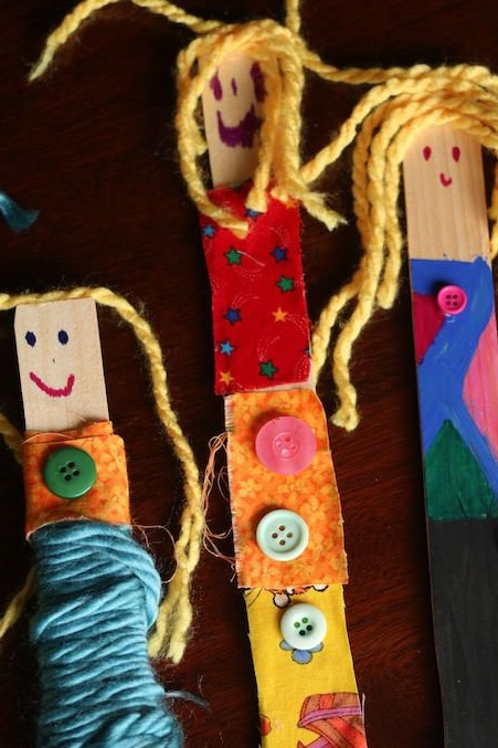 Worry Dolls (Craft from July 13 2019)
