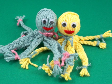 Yarn Octopus (Craft from July 27 2019)
