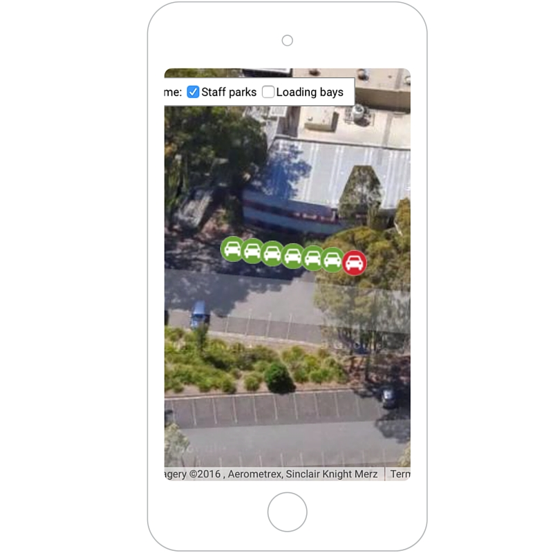 Smart Parking Customer Interface