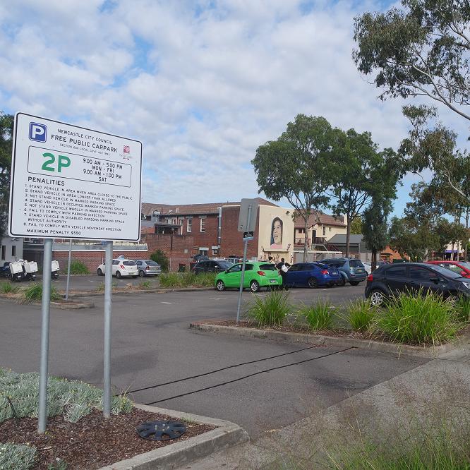 Dora Street Smart Car Park
