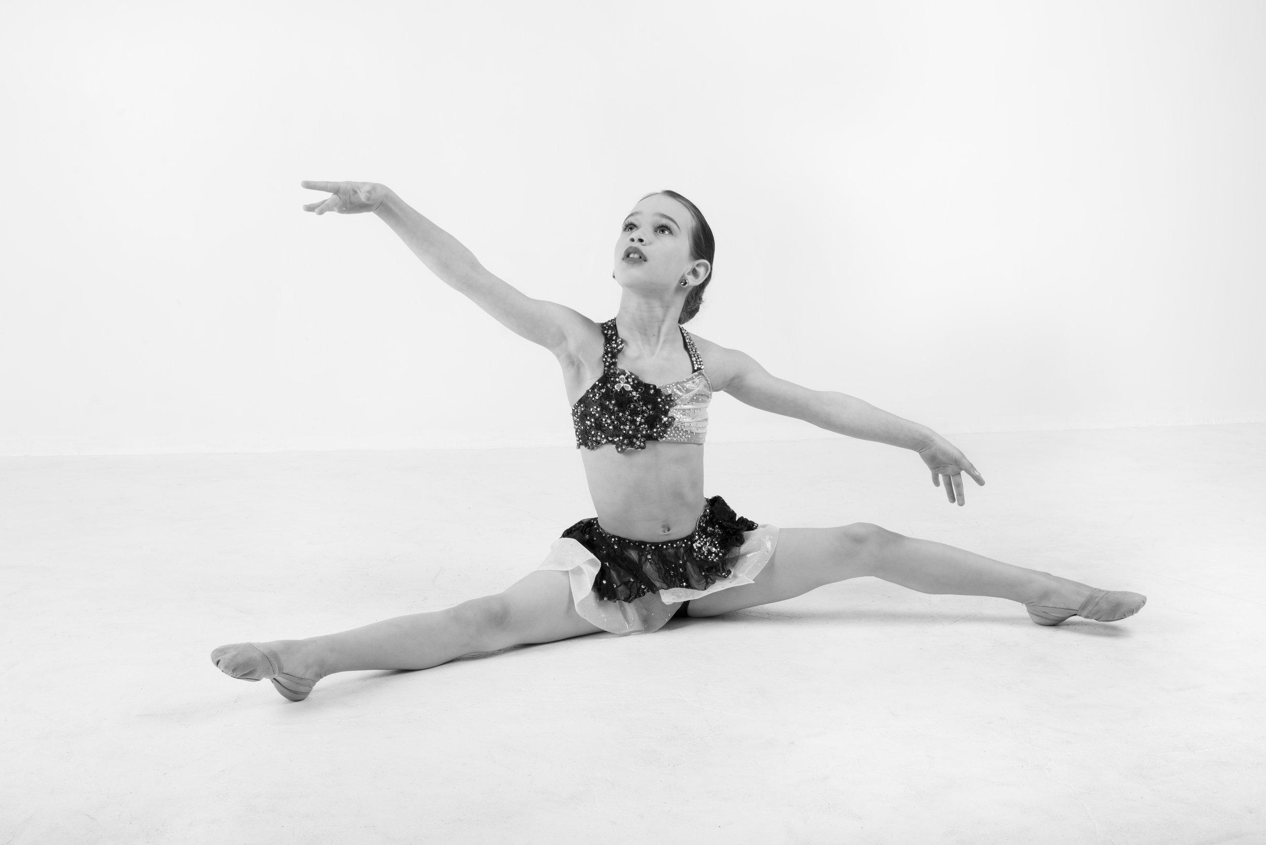 Twin Cities dance student