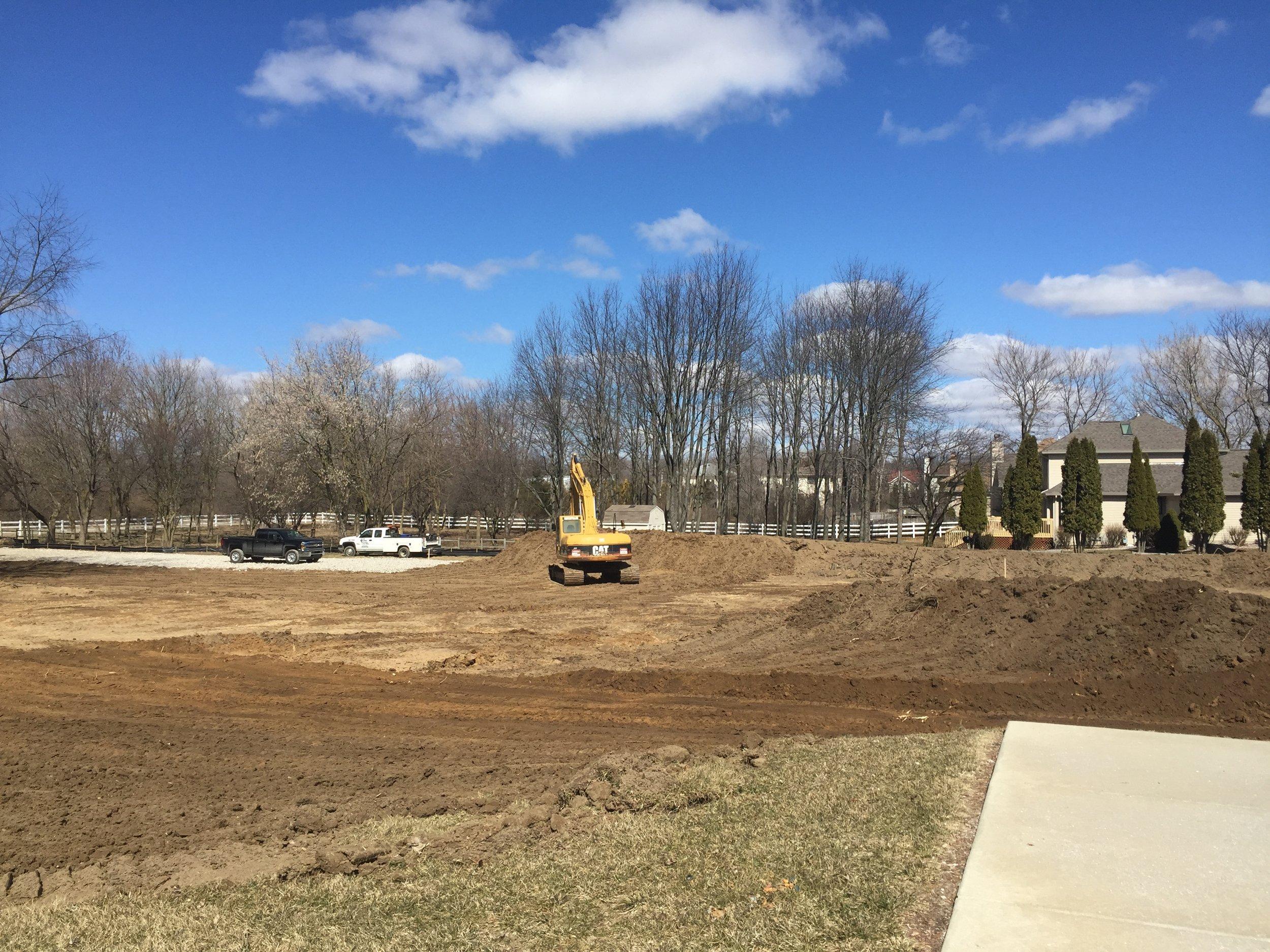 PACE construction site
