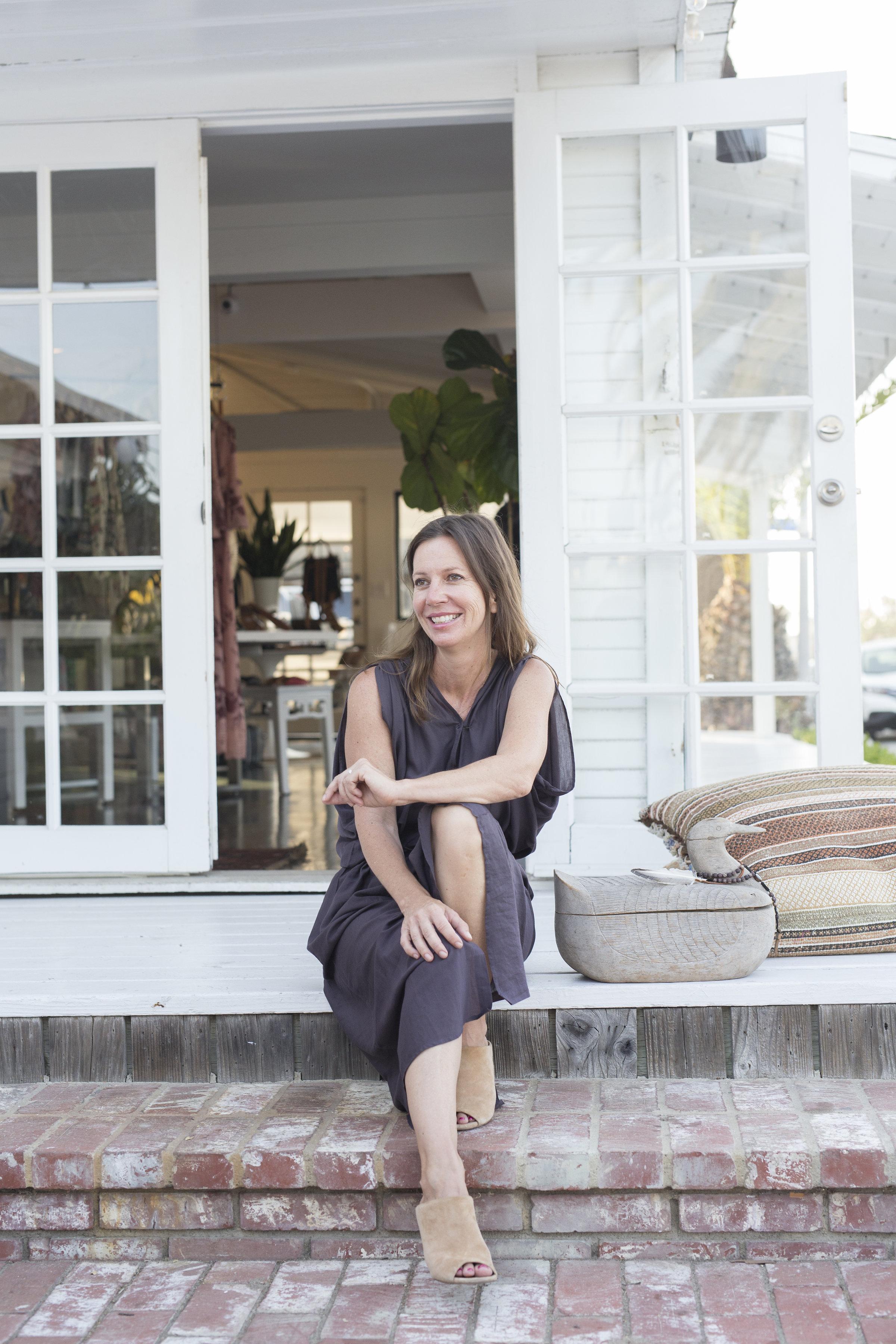 Lisa Martinez on a lark at Cleobella.jpg