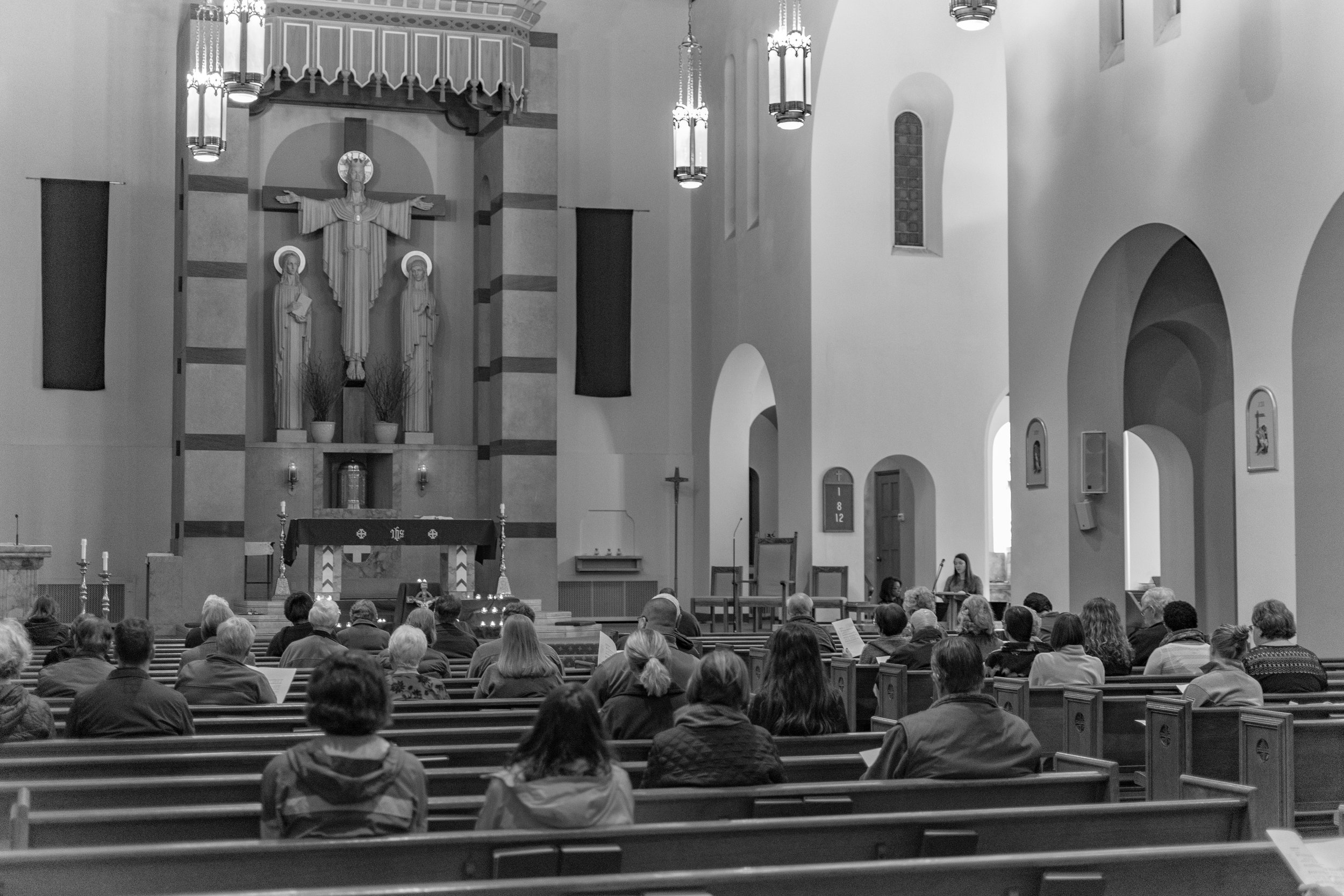 An Evening of Taize Prayer, March 4, 2018, at Christ the King