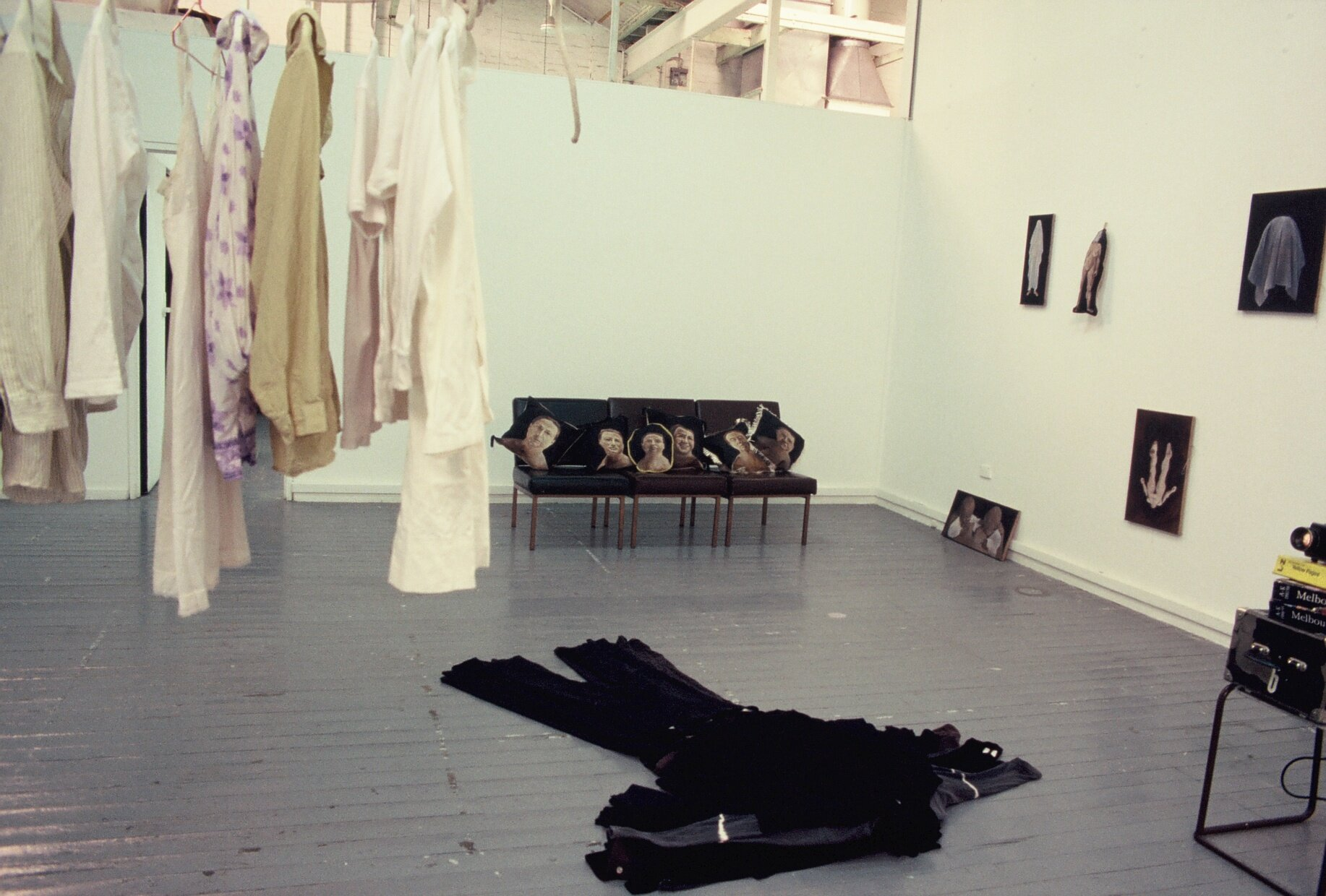 Masters show at RMIT - personal narratives in art