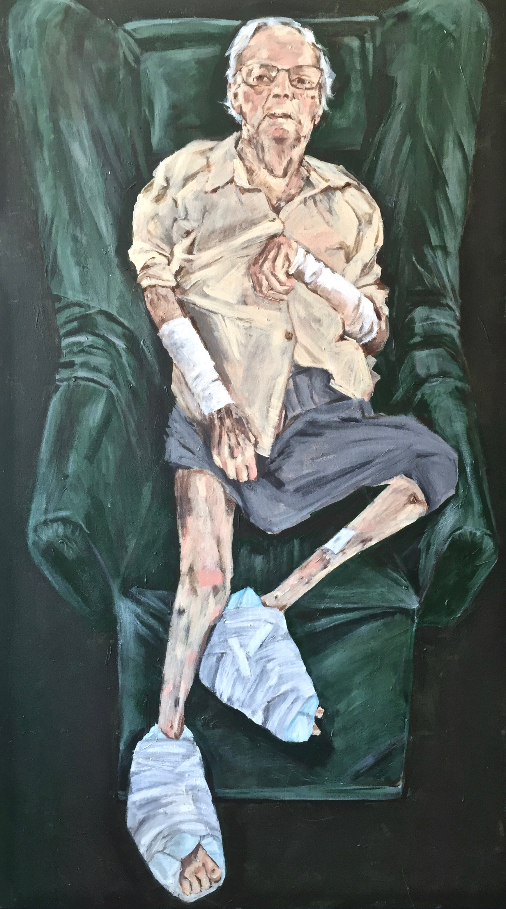 the artists mother, 2019