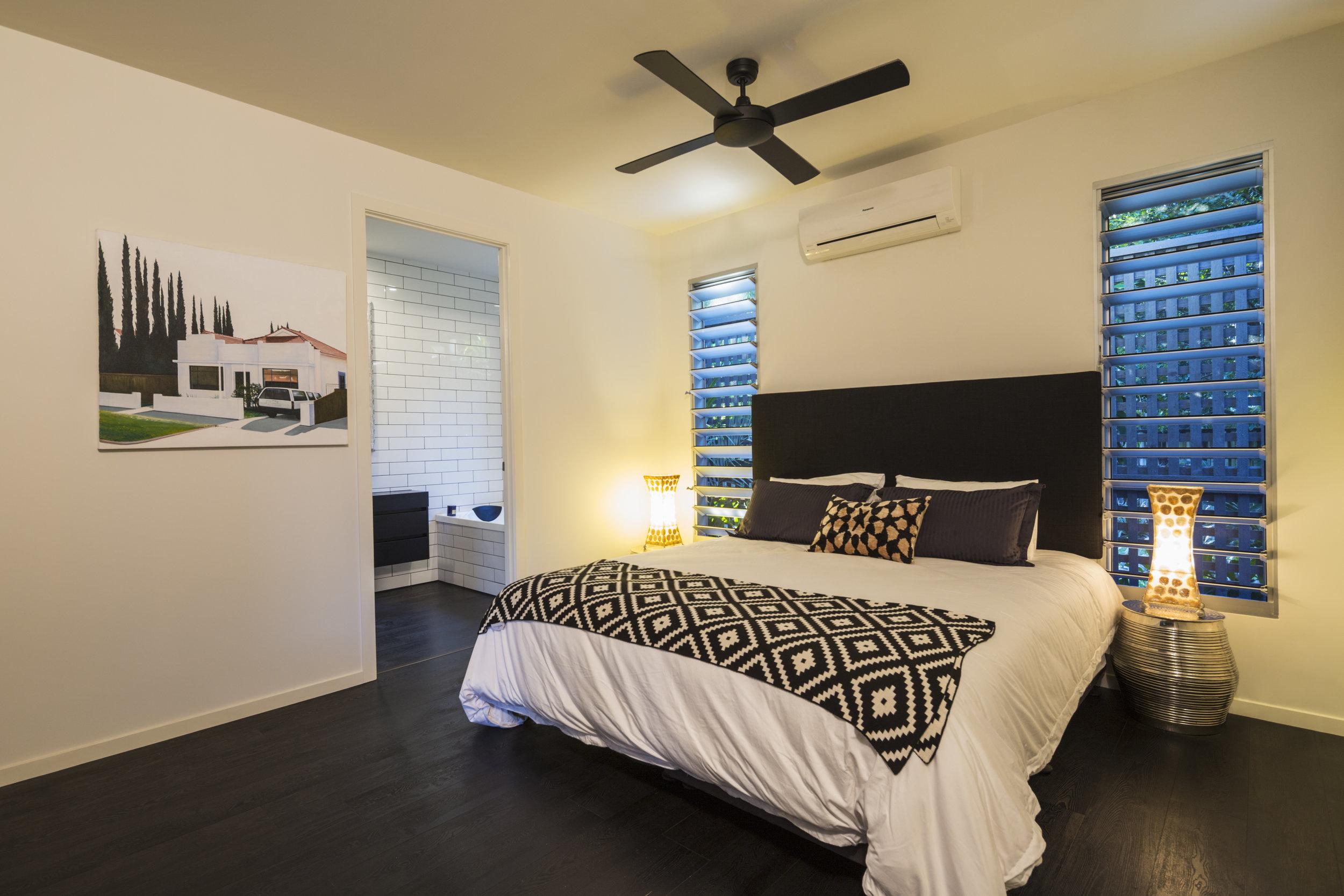 Archie Street - Master bedroom