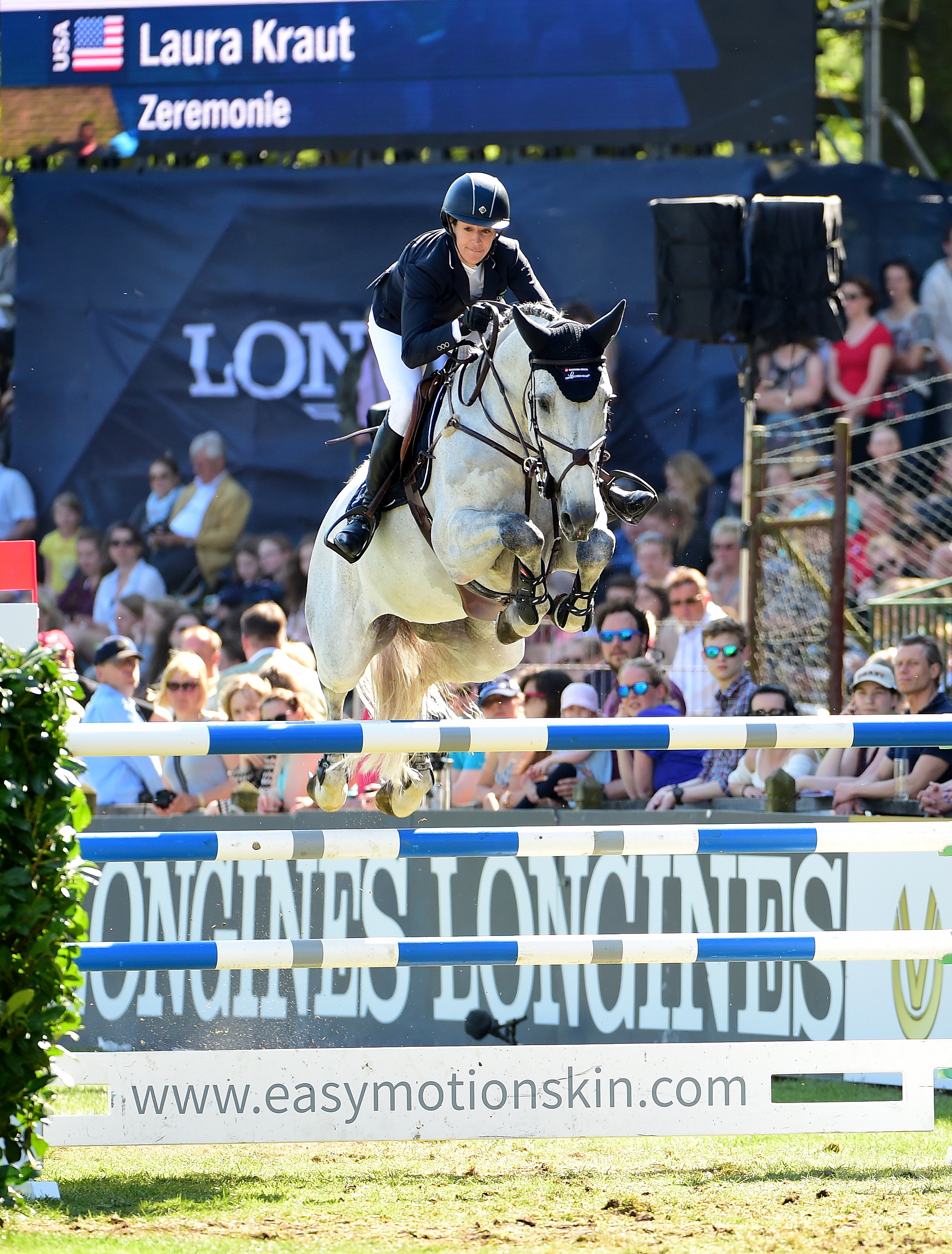 Zeremonie and Laura Kraut World Champions!!  This great pair were part of the Team USA that won the Gold Medal at the World Equestrian Games in Tryon 2018.