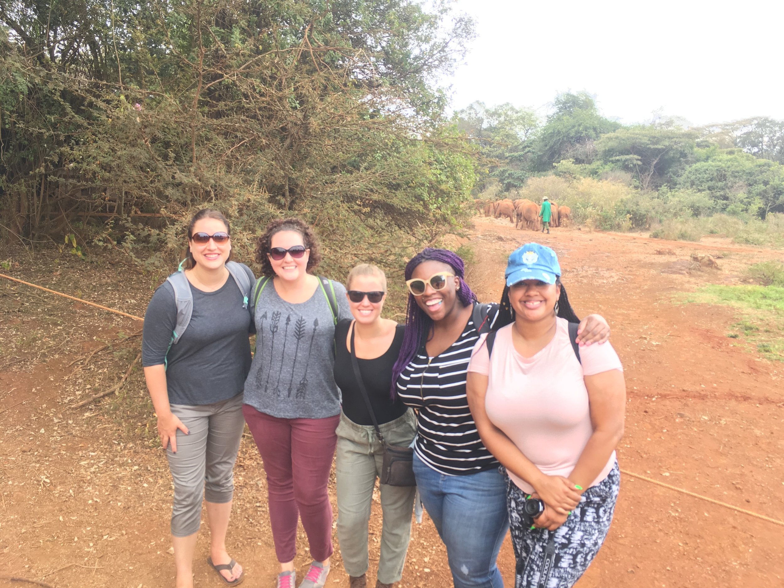 The 2017 team from Trinity Church (Chicago) in Kenya