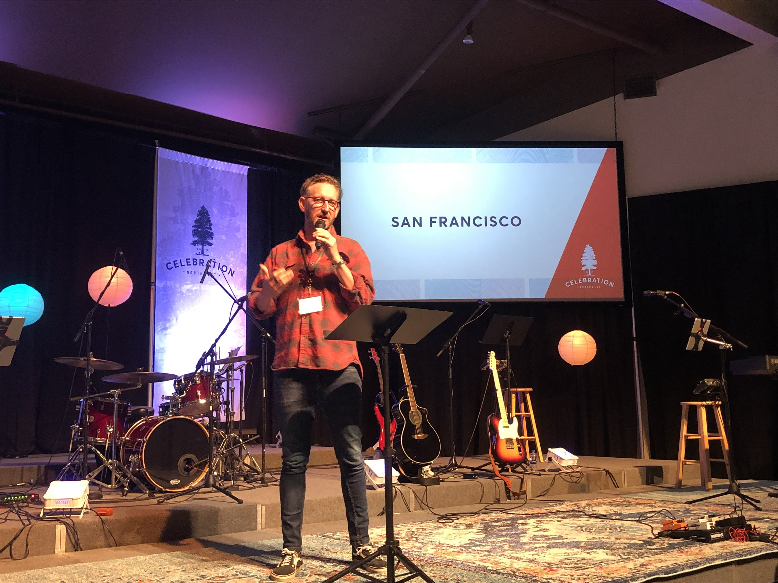 Tom Shaw shares the story and vision of Sanctuary Church SF