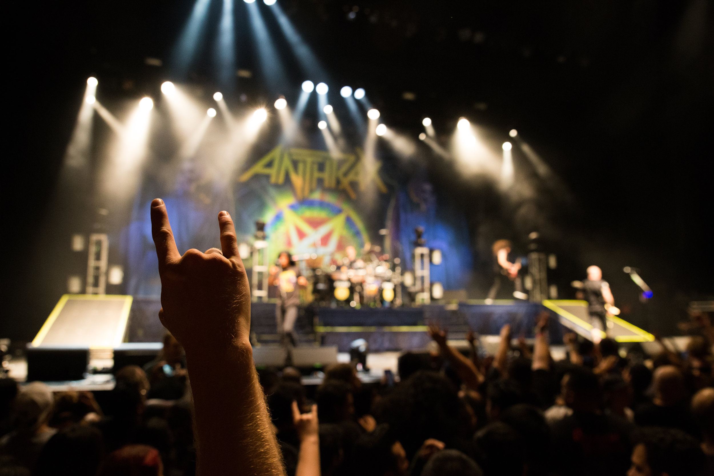 Anthrax - Wiltern - April 22, 2017