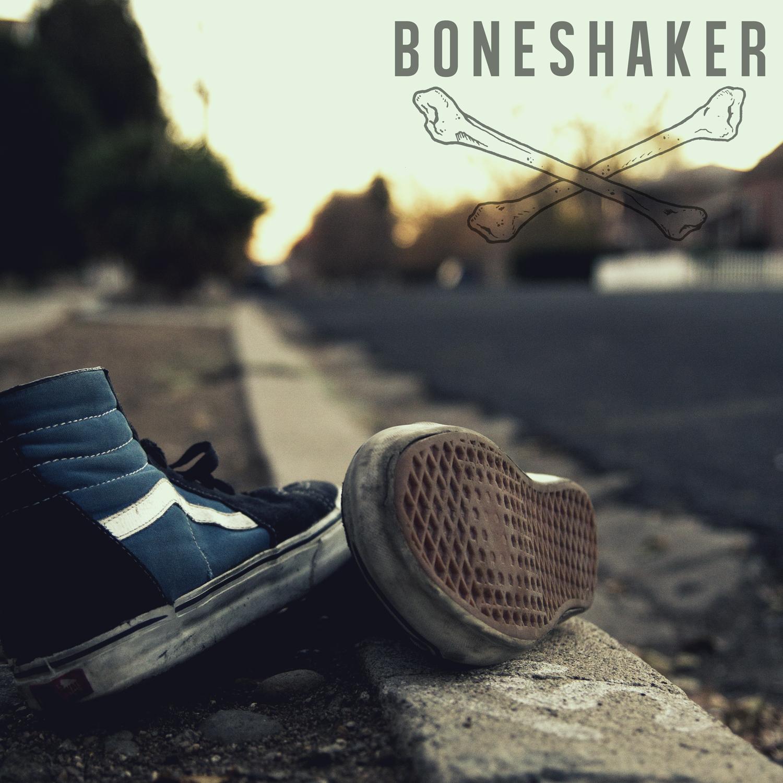 Boneshaker EP front cover.
