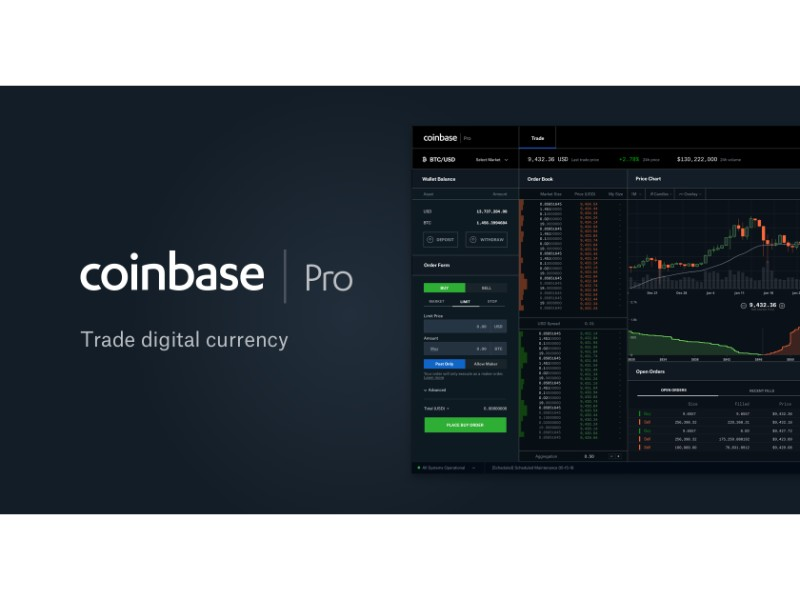 Coinbase Pro is for when you need to move large amounts of coin in and out of the system. This is a great place to buy and sell your cryptocurrencies.