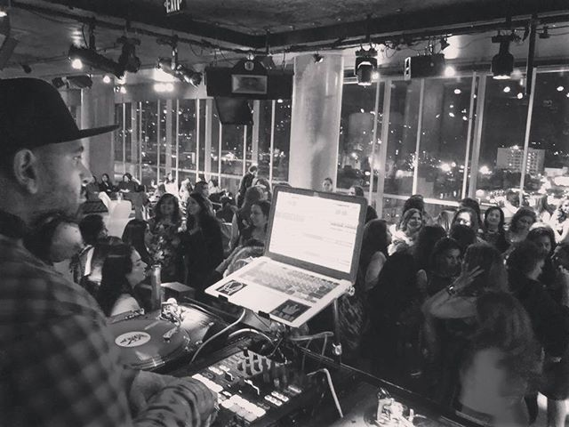I want to do another event at the W! Such a dope rooftop venue... Definitely a highlight for me. #djlife