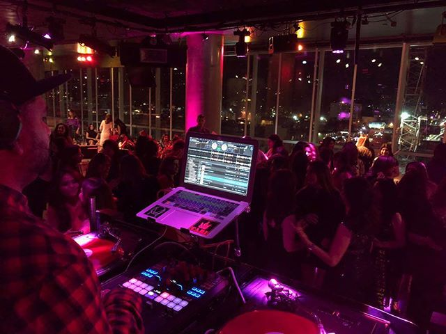 Another milestone - DJing at the W in Hollywood. What a bad ass night! #djlife