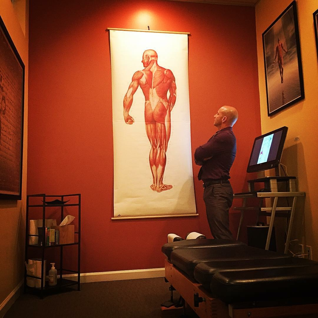 Visually stimulating artwork in all of the adjusting rooms at  The Life Center Chiropractic  in Los Angeles.