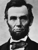 """I will walk slowly, but I never walk backward.""  - Abraham Lincoln"